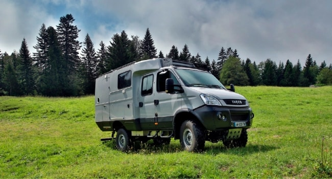 location camping car 4x4 france