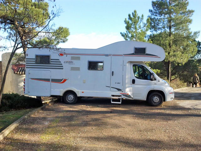 location camping car 6 places nice