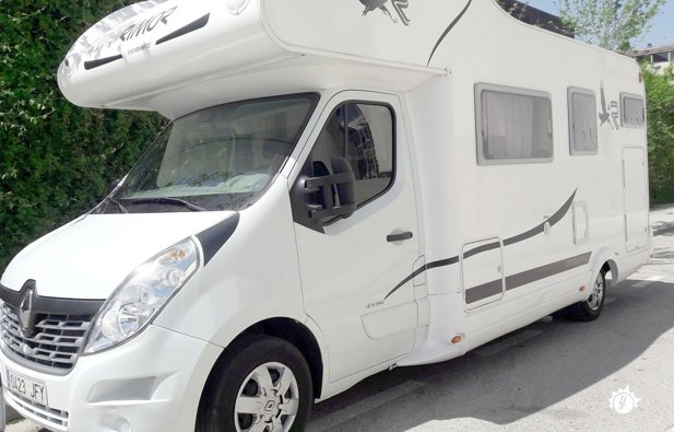 location camping car 7 places madrid