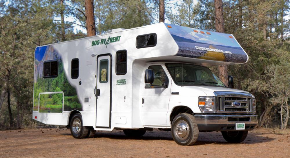 location camping car 7 places usa