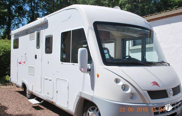 location camping car 71