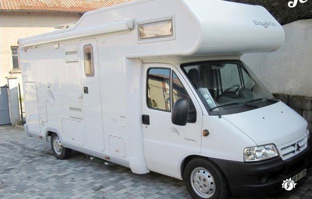 location camping car 82