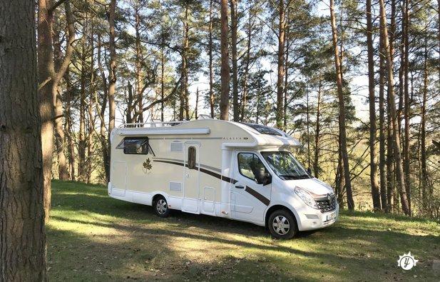 location camping car alaska