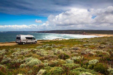 location camping car algarve