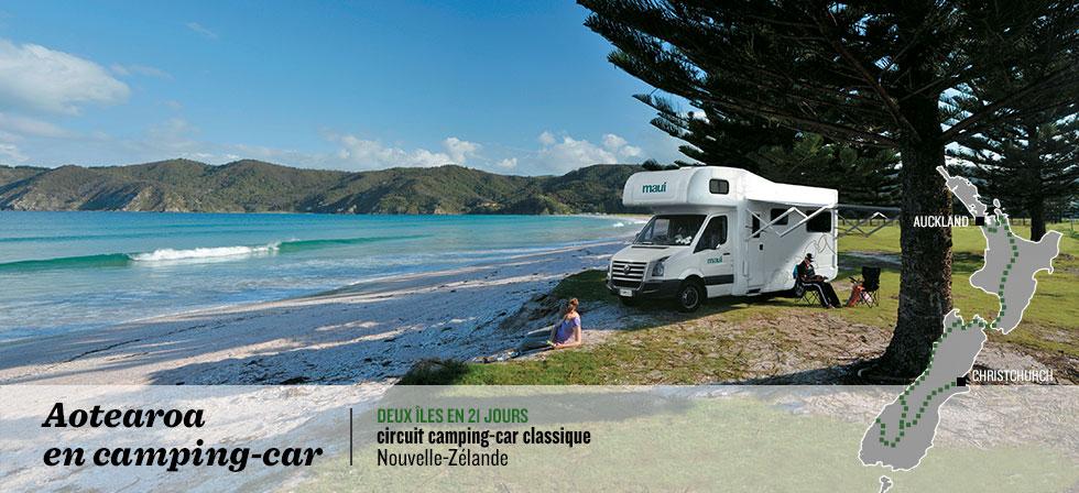 location camping car auckland