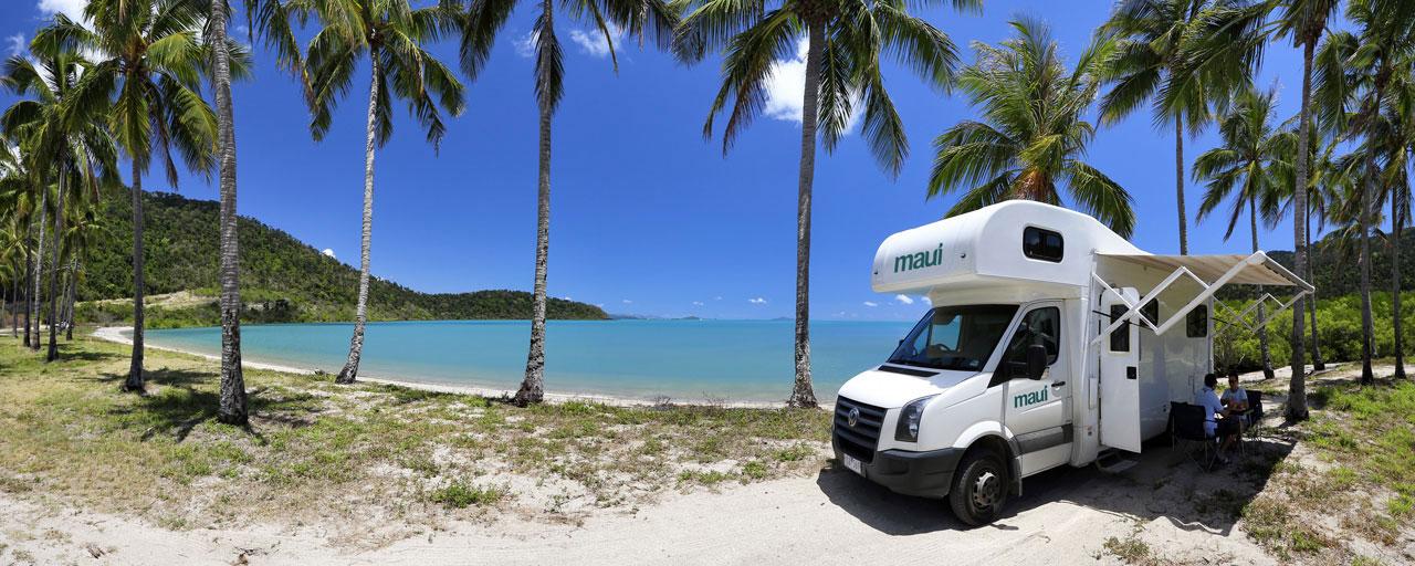location camping car australie
