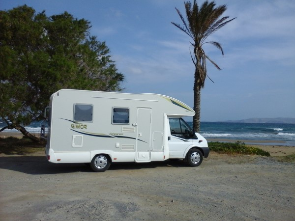 location camping car crete