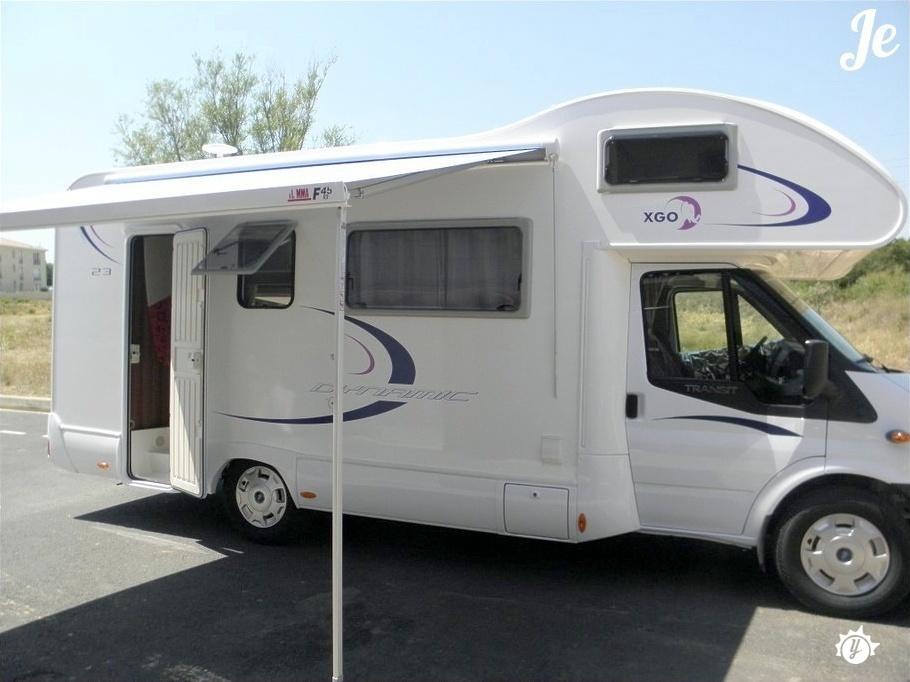 location camping car departement 95