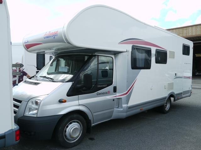 location camping car flers