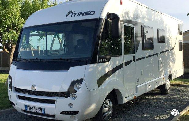 location camping car integrale