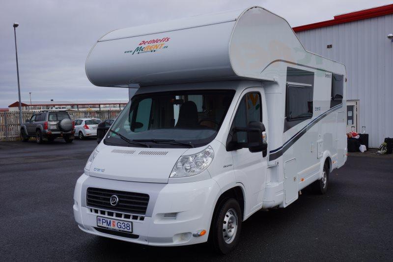 location camping car islande