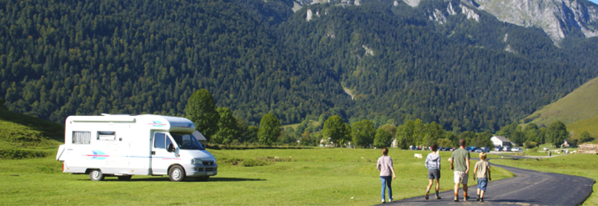 location camping car maif