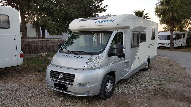 location camping car martinique