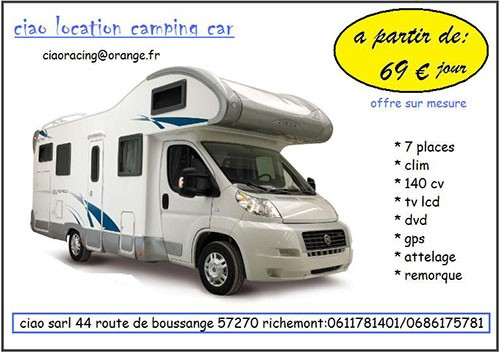 location camping car orange