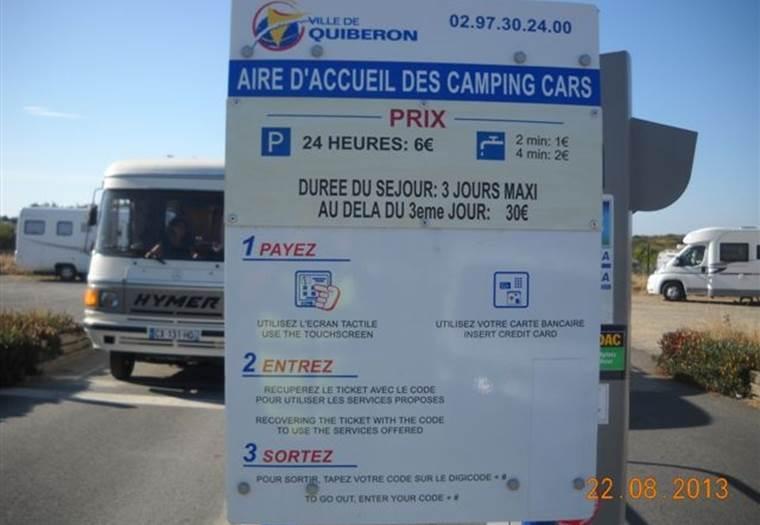 location camping car quiberon