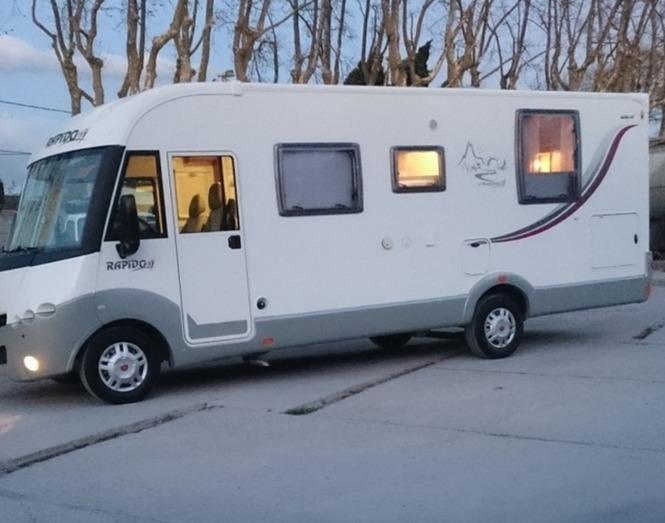 location camping car tunisie