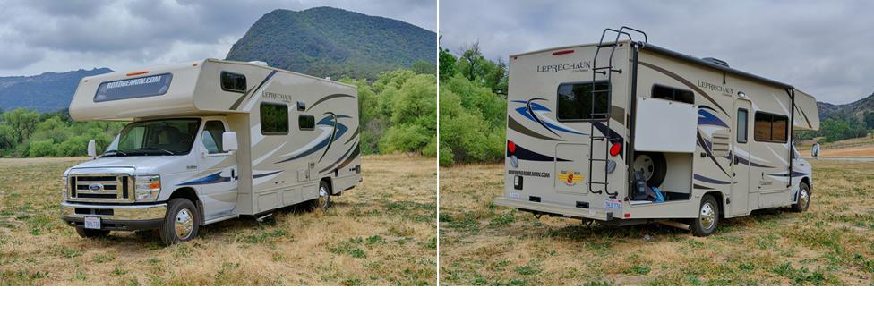 location camping car usa road bear