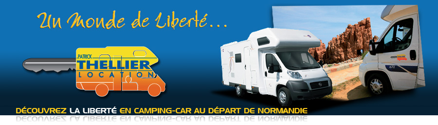 location camping car verson