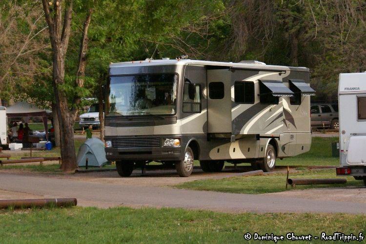 location camping car washington