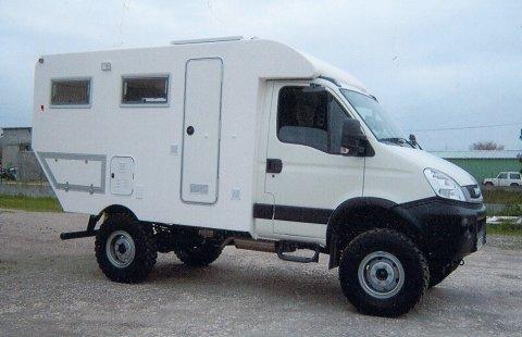 camping car 4x4 iveco