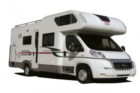 camping car capucine avec grande soute