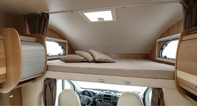 camping car capucine lit a la francaise