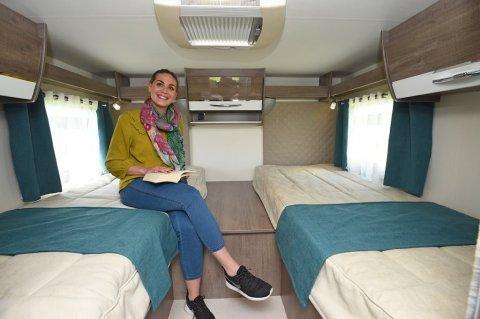 camping car capucine lit jumeaux