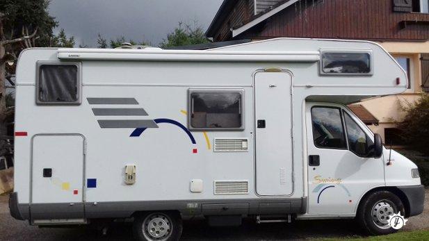 camping car capucine moins de 3 metres