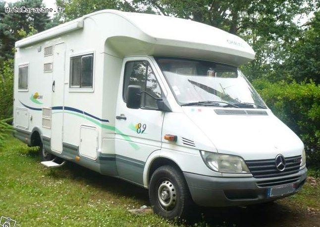 camping car capucine porteur mercedes