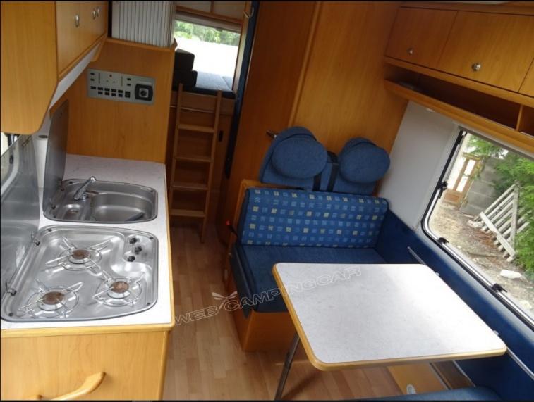 camping car capucine weinsberg orbiter 591g