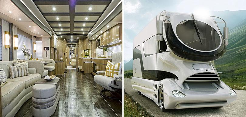 camping car de luxe