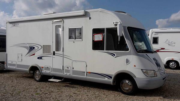 camping-car frankia integral i 740 bd
