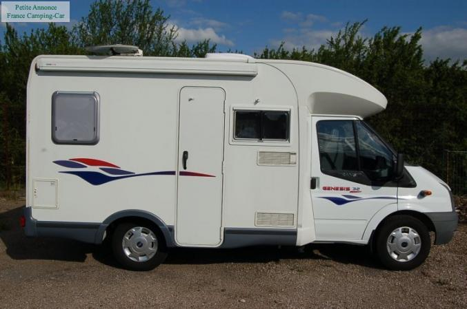 camping car genesis 32
