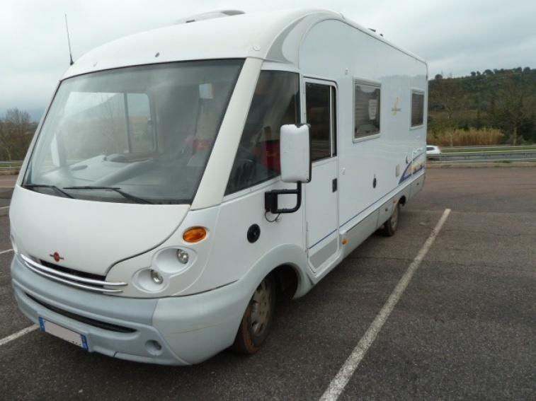 camping car integral - burstner i 660