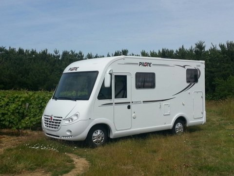 camping car integral 6 m occasion