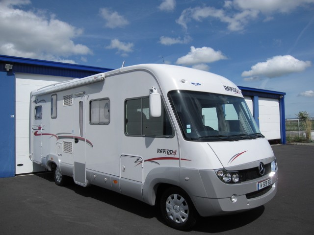 camping car integral 7m occasion
