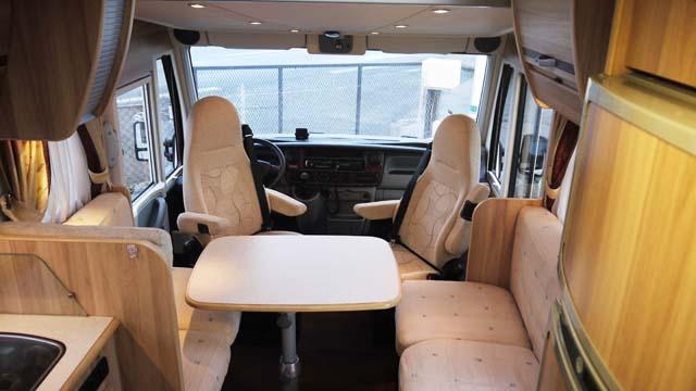 camping car integral autostar aryal 858