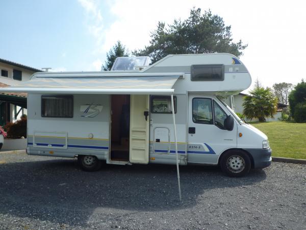 camping car integral burstner i 574