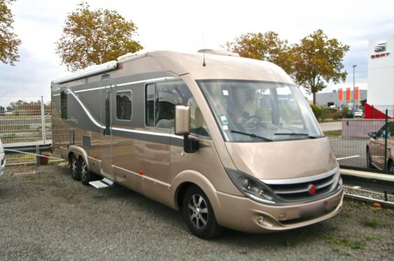 camping car integral double essieux occasion