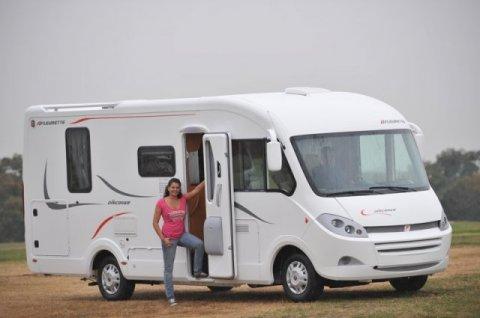 camping car integral fleurette