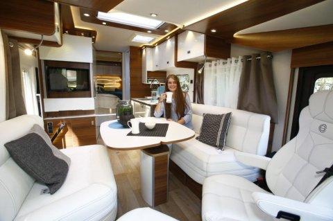 camping car integral haut de gamme