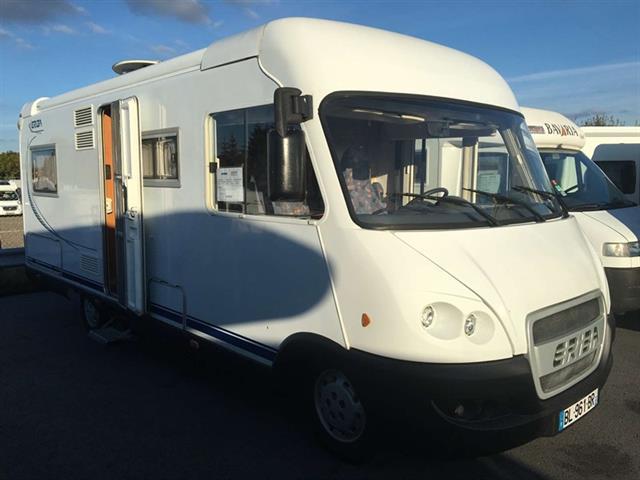 camping car integral hymer eriba jet 636
