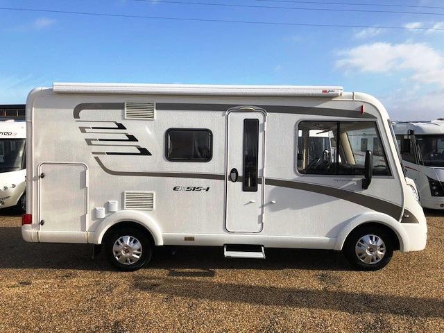 camping car integral hymer exsis-i ex 414
