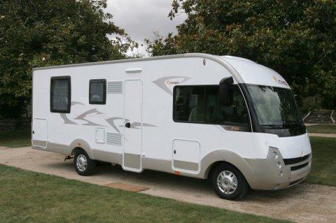 camping car integral itineo mb 740