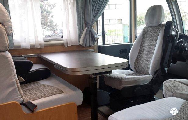 camping car integral itineo sd 610