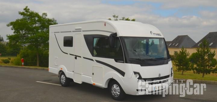 camping car integral lit a la francaise