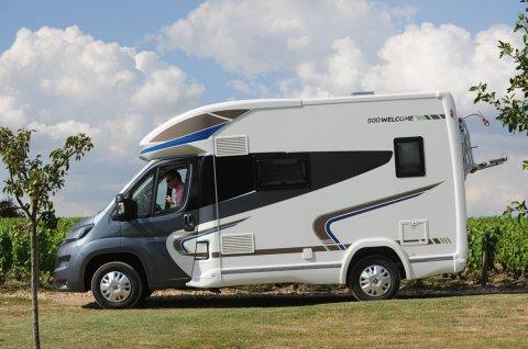 camping car integral lit transversal occasion