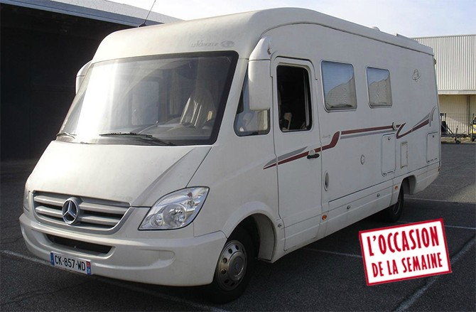 camping car integral mercedes