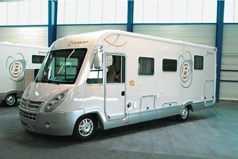camping car integral neuf bavaria