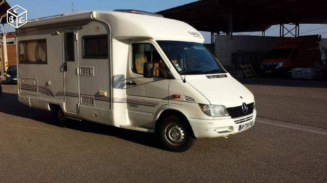 camping car integral occasion 15000 euro